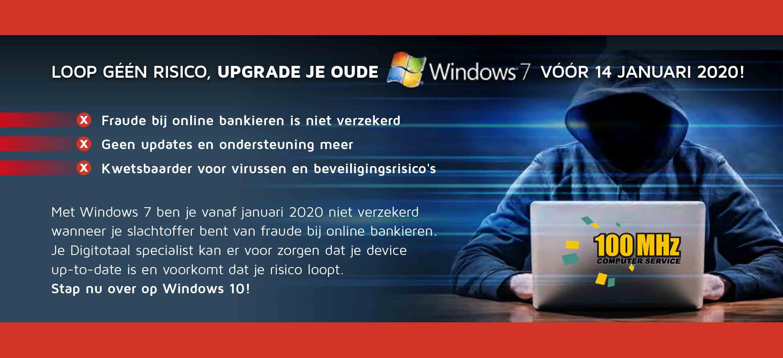 Waarschuwing voor alle Windows 7-gebruikers